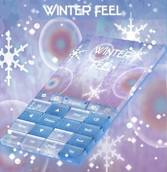 Winter Feel Keyboard apk screenshot