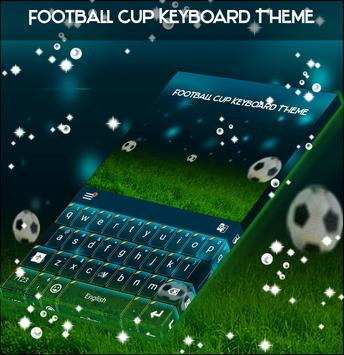 Football Cup Keyboard Theme poster