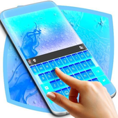 Neon Blue Theme Keyboard icon