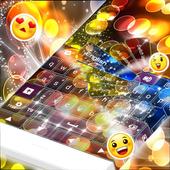 Yellow Circles Keyboard Theme icon