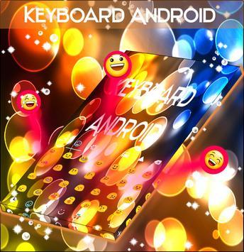 Yellow Circles Keyboard Theme screenshot 2