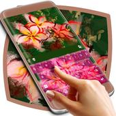 Asian Flowers Keyboard Theme icon