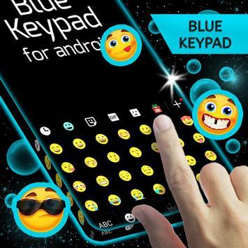 Keypad Blue for Android apk screenshot