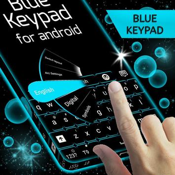 Keypad Blue for Android screenshot 2