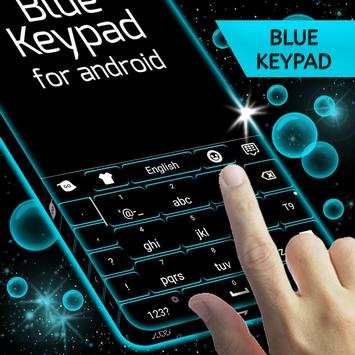 Keypad Blue for Android screenshot 3