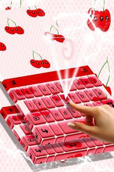 Cherry Keyboard Theme screenshot 1