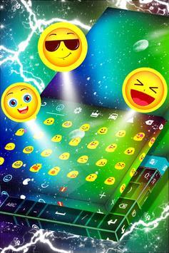 Colorful Space Keyboard apk screenshot