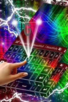 Rainbow Keyboard For Samsung screenshot 2