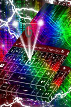 Rainbow Keyboard For Samsung apk screenshot