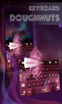 Doughnuts Keyboard Theme poster