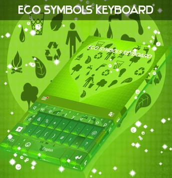 Eco Symbols Keyboard poster