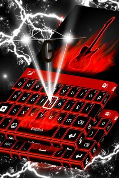 Flames Neon Keyboard screenshot 3