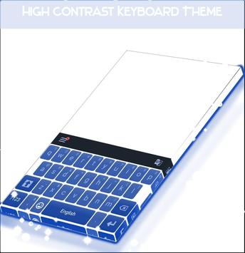 High Contrast Keyboard Theme poster