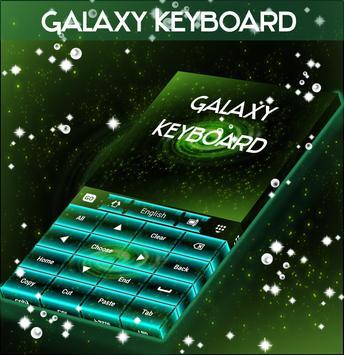 Galaxy Keyboard poster