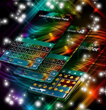 Color HD Keyboard Theme screenshot 1