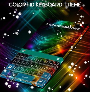 Color HD Keyboard Theme screenshot 2