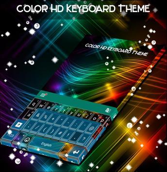 Color HD Keyboard Theme screenshot 4
