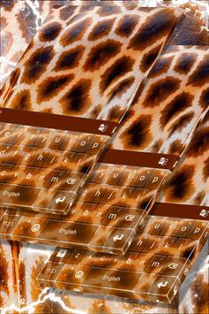 Animal Print Keyboard Theme poster