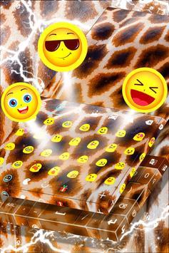 Animal Print Keyboard Theme apk screenshot
