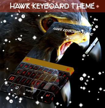 Hawk Keyboard Theme poster