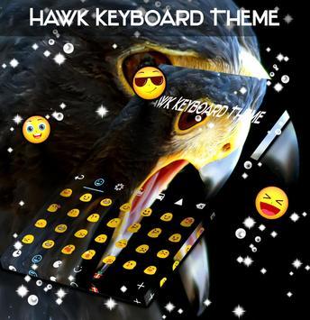Hawk Keyboard Theme screenshot 1