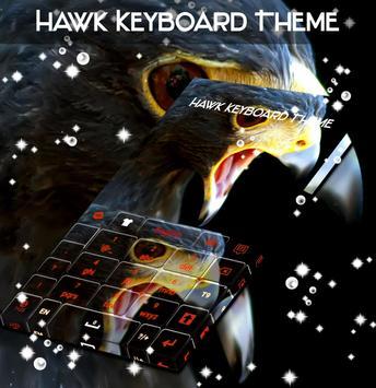 Hawk Keyboard Theme screenshot 4