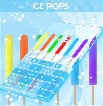 Ice Pops Keyboard apk screenshot