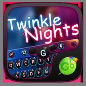 Twinkle Night GOKeyboard Theme icon