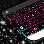 Neon Lights Keyboard Theme icon