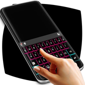 Neon Lights Keyboard Theme icon