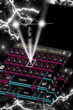 Neon Lights Keyboard Theme apk screenshot