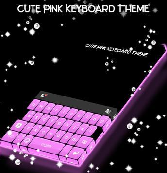 Patel Pink Keyboard poster