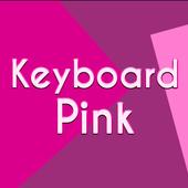 Keyboard Pink Theme icon