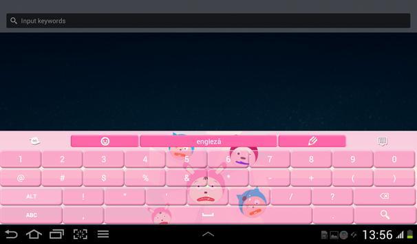 Keyboard Theme Anime apk screenshot