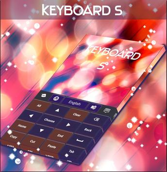 Light Specks Keyboard Theme apk screenshot