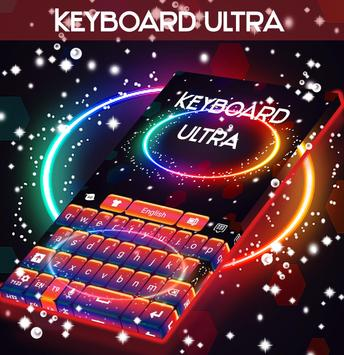Ultra Colored Theme Keyboard poster