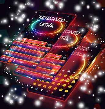 Ultra Colored Theme Keyboard apk screenshot