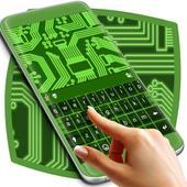 Neon Circuits Keyboard icon