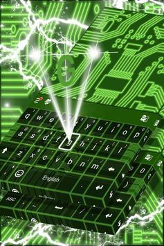 Neon Circuits Keyboard screenshot 3