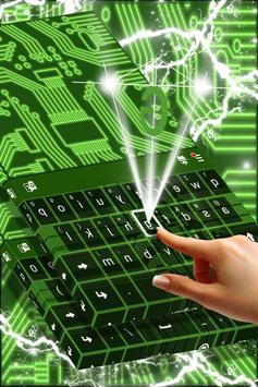 Neon Circuits Keyboard screenshot 1