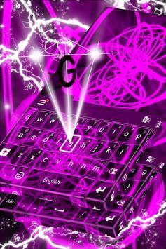 Neon Keyboard for Galaxy S4 apk screenshot