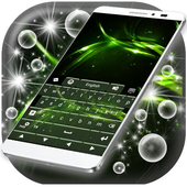 Aurora Lights Keyboard Theme icon
