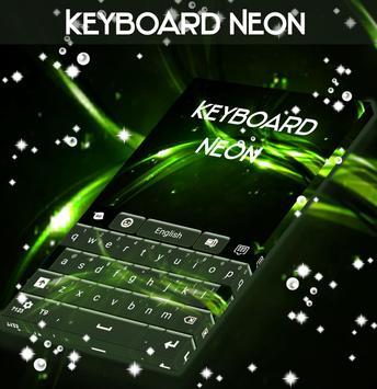 Aurora Lights Keyboard Theme poster