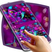 Rave Girl Theme Keyboard icon