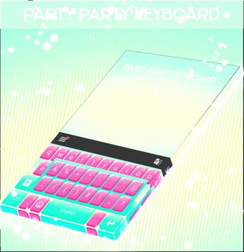 Party Party Keyboard poster