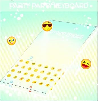 Party Party Keyboard screenshot 1