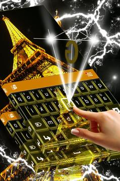 Paris Live Keyboard apk screenshot