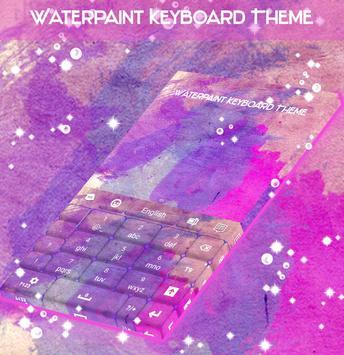 Watercolor Theme Keyboard screenshot 4