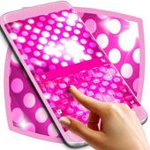Pink Sparkle Keyboard Theme icon