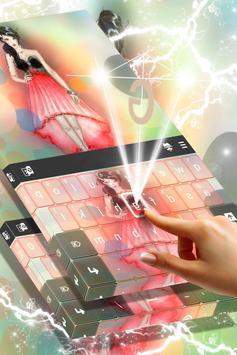 Doll Theme Keyboard apk screenshot